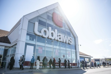 Le profit de Loblaw en hausse de 122% )