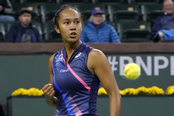 Indian Wells Leylah Fernandez défait Alizé Cornet