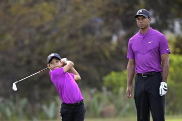 Le fils de Tiger Woods impressionne au Championnat PNC)