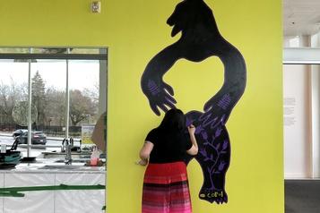Une œuvre murale en hommage à Joyce Echaquan à Joliette)