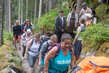 En Autriche, une randonnée théâtrale retrace l'exode des Juifs)