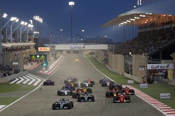 F1 Le programme double au Bahreïn présenté à huisclos)
