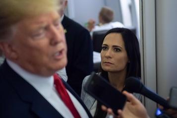 Donald Trump se sépare de sa porte-parole Stephanie Grisham