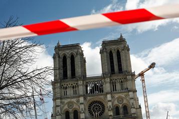 Travaux stoppés à Notre-Dame de Paris