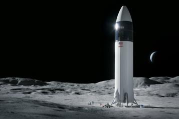 Module d'alunissage Le choix de SpaceX par la NASA jugé réglementaire)