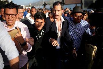 Juan Guaidó de retour à Caracas après sa tournée internationale