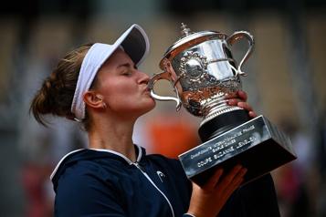 Barbora Krejcikova sacrée championne à Roland-Garros)