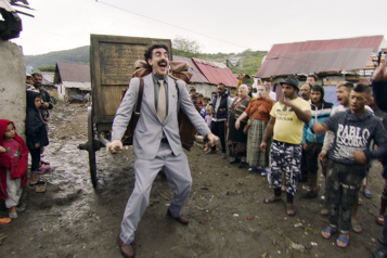 Golden Globes Borat remporte le prix de la meilleure comédie)