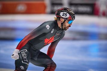 Champion du monde au 1500m CharlesHamelin: «J'avais l'énergie pour me battre jusqu'à la fin» )