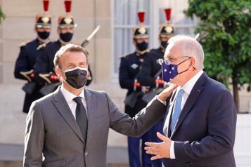 Sous-marins L'Australie sera «patiente» pour rétablir les relations avec la France)