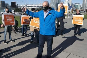 Élections provinciales Le NPD obtient un nouveau mandat en Colombie-Britannique)