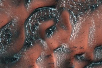 Dans sa jeunesse, Mars a pu héberger de vastes glaciers)