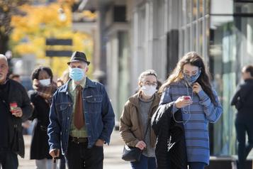 Selon l'INSPQ Le Québec doit en faire plus pour stabiliser l'épidémie)