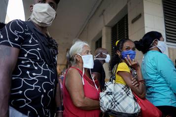 «L'embargo, encore plus cruel» en temps de pandémie, dénonce Cuba)