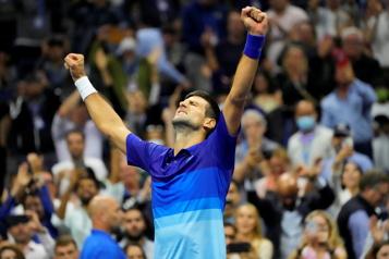 Novak Djokovic à un match de réussir le GrandChelem)