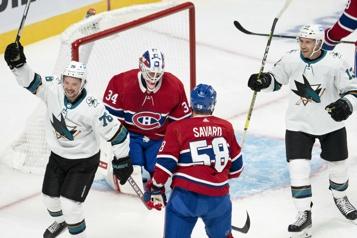 Sharks 5 – Canadien0 Et maintenant…?
