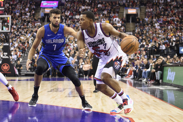 Les Raptors l'emportent contre le Magic