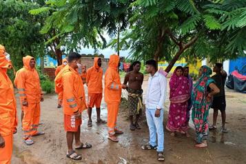 Inde Au moins deux morts lors du passage du cyclone Gulab )