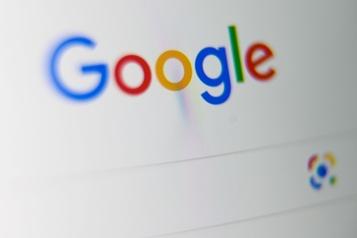 Les États-Unis s'attaquent à Google)