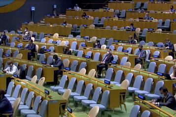 COVID-19 au sein d'une mission diplomatique Annulation des réunions physiques mardi à l'ONU)