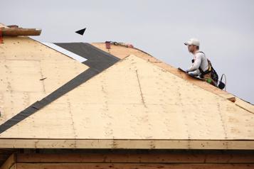 Construction résidentielle Meilleure année en 30ans au pays)