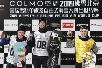 Maxence Parrot gagne l'or à sa première sortie en big air