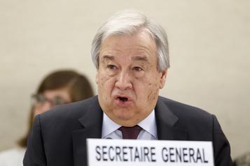 COVID-19: la pire crise mondiale depuis 1945, selon le chef de l'ONU