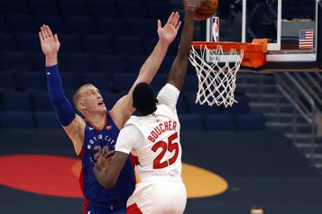 NBA Des Raptors décimés se font corriger par les Pistons)
