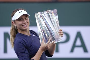 Indian Wells Paula Badosa remporte la finale
