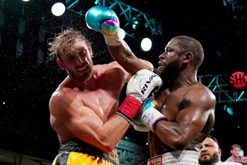Logan Paul tient son bout contre Floyd Mayweather)