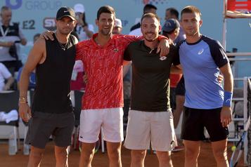Après le fiasco Djokovic, des centaines de spectateurs admis à Berlin)