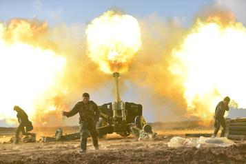 Irak: une force paramilitaire accuse Washington d'avoir bombardé sa base