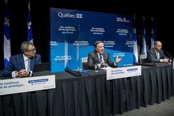 COVID-19 au Québec Assouplissement des mesures à venir, mais pas à Montréal)