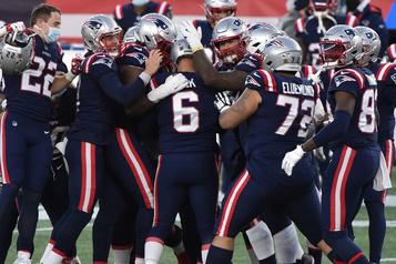 Autre victoire des Patriots grâce au botteur Nick Folk)
