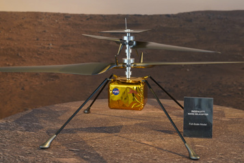 Mars Mission prolongée pour l'hélicoptère Ingenuity )
