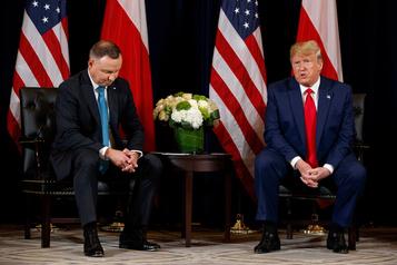Trump annonce un renforcement de la présence militaire américaine en Pologne