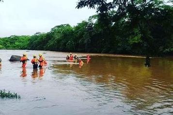 Panama: une famille décimée lors d'une inondation)