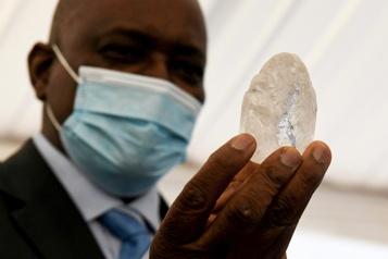 Le Botswana annonce la découverte d'un diamant exceptionnel)