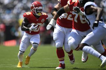 Chiefs: Tyreek Hill pourrait rater de quatre à six semaines