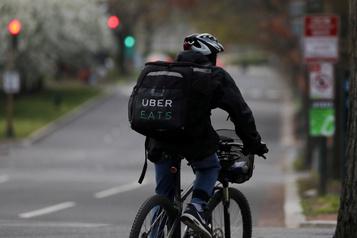 Uber se lance dans la livraison d'épicerie à Montréal)