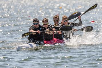Canoë-kayak de vitesse Pierre-Luc Poulin: «La réalisation d'un rêve de famille» )