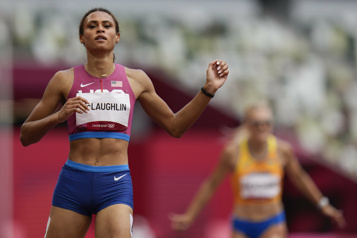 Athlétisme L'Américaine McLaughlin bat le record du monde du 400m haies)