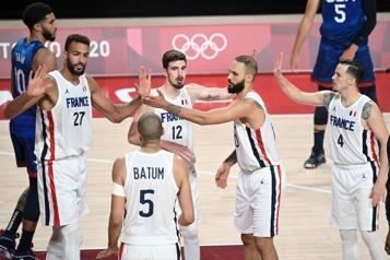 Basketball Team USA battue d'entrée par la France)