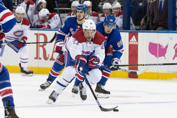 Canadien 2 — Rangers 1 (pointage final)