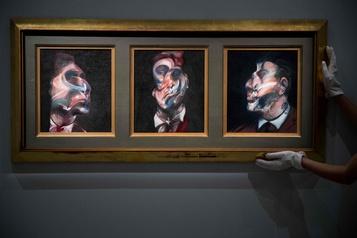 Un triptyque de Francis Bacon vendu 84,6 millions $)