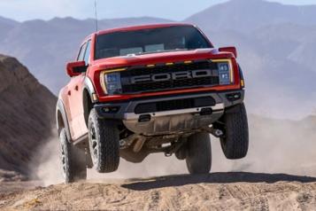 Ford Le F-150 Raptor veut relever son jeu, sans V8pour lemoment)