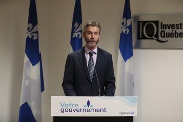 Investissement Québec dans le rouge en raison de la COVID-19)