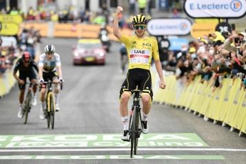 Tour de France Tadej Pogacar, une fois de plus)