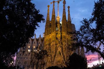 Des retards dans les travaux de la Sagrada Familia)