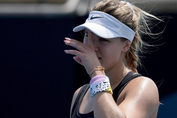 Eugenie Bouchard battue au 1er tour à Newport Beach